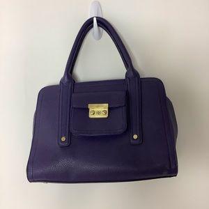 Phillip Lim for Target Faux Leather purple bag